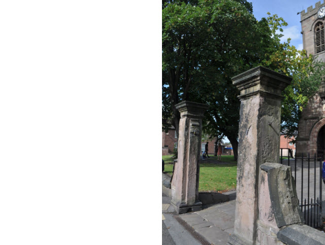 Gates and Piers to St Marys Church