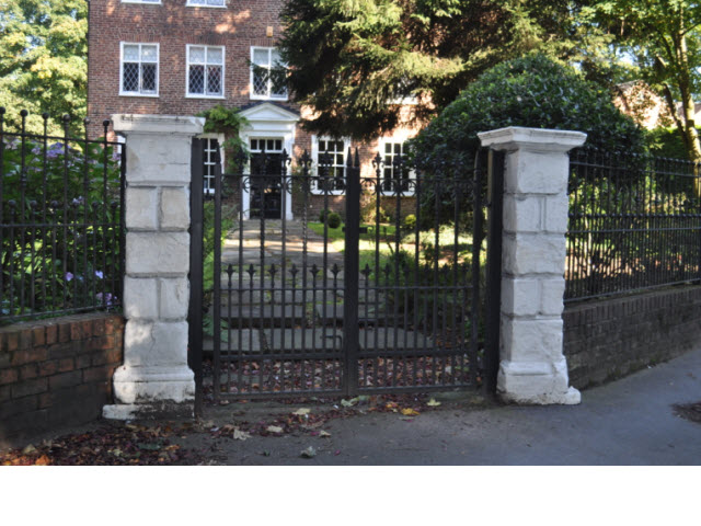 Gatepiers at Astley Vicarage