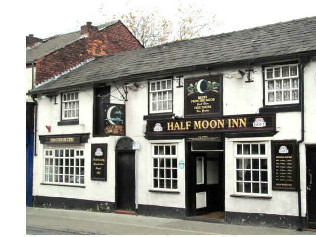 Pair of Shops now Half Moon Inn