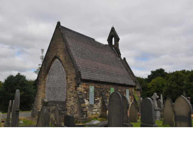 Ince Cemetery Chapel 60m SW of Lodge
