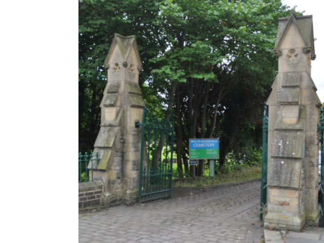 Ince Cemetery Lodge Gate