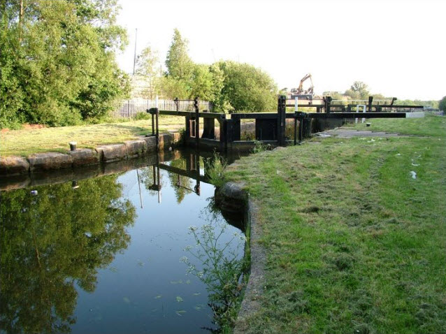 Aspull part Flight of 13 Locks and Bridges Lock03