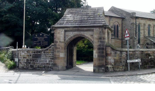 Lych Gate to Church of St David