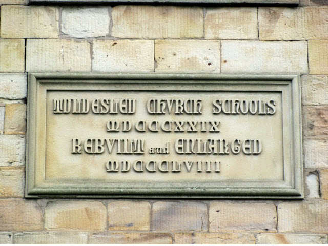Stone built portion of St Georges School