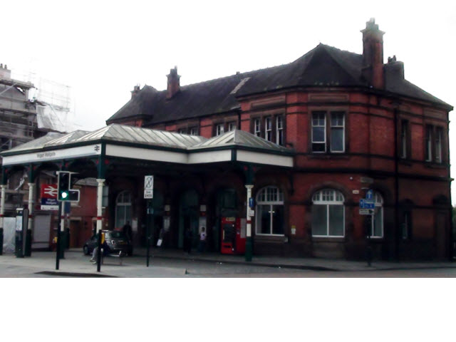 Wallgate Station Entrance Block