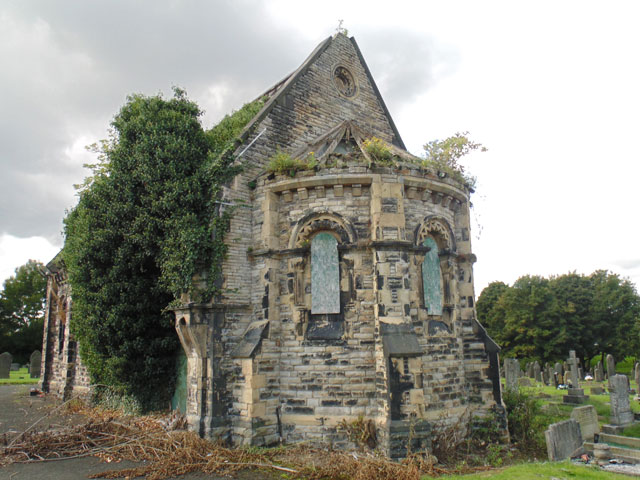 Ince Cemetery Chapel 117m SW of Lodge